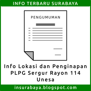 info penginapan lokasi plpg sergur rayon 114 unesa surabaya
