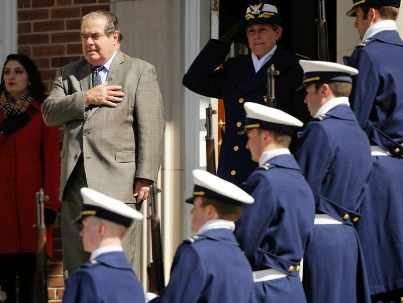 Scalia to Coast Guard cadets