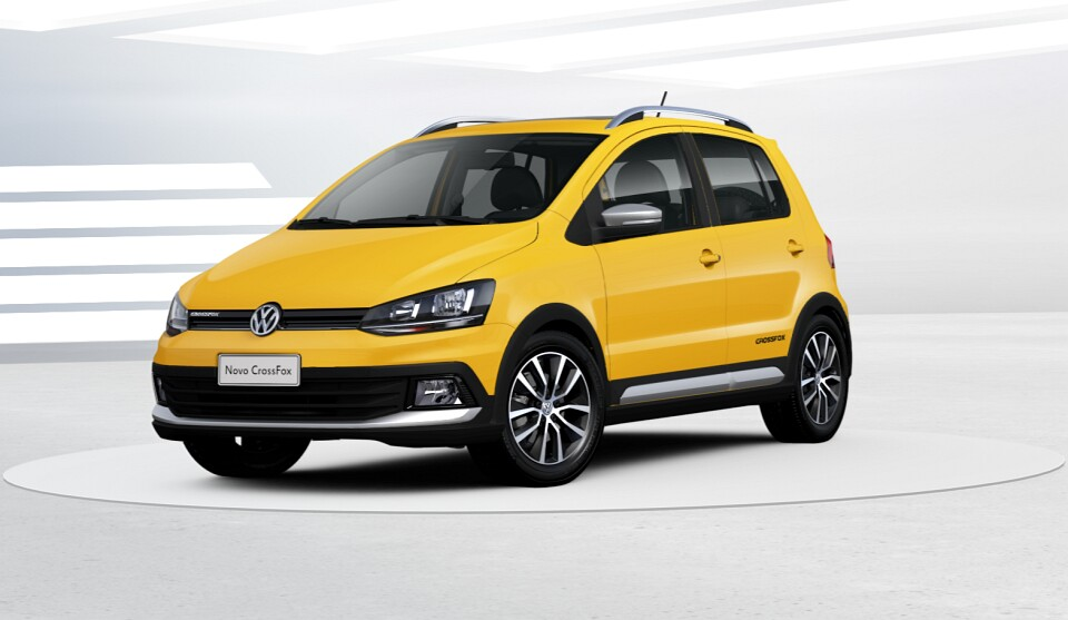 VW CrossFox I-motion Amarelo Ímola