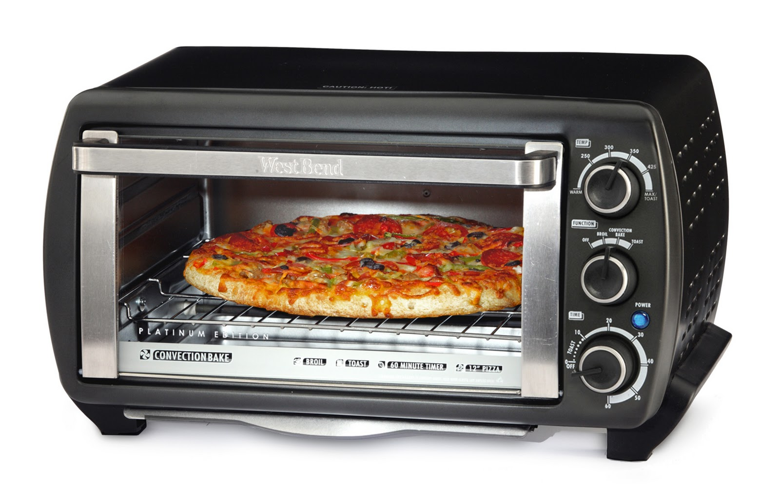 Countertop Oven Toaster : Burp!: High End Appetizers: Right from your toaster oven