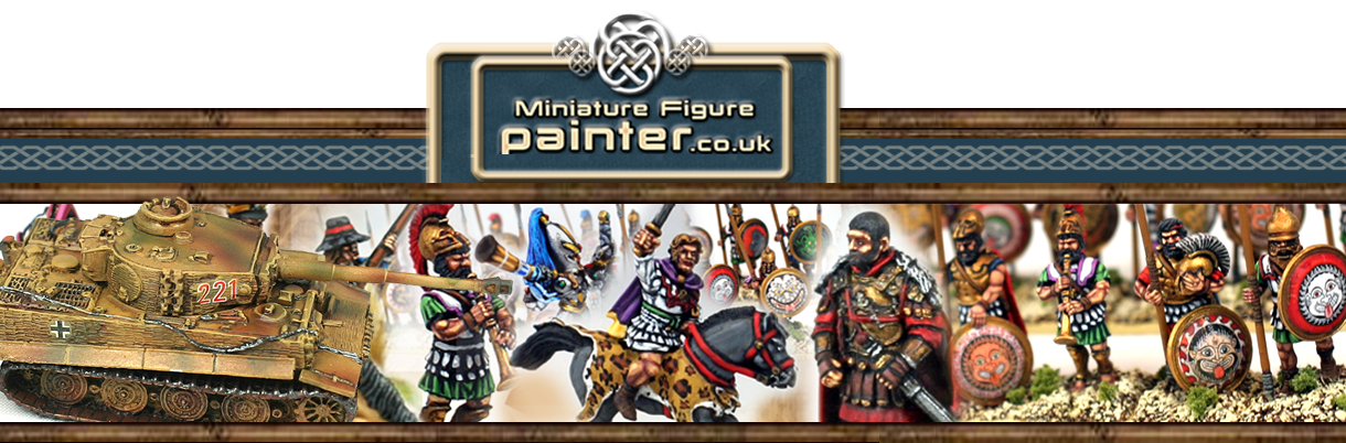 Welcome to Miniature Figure Painter 28mm and 15mm Wargames Painting.