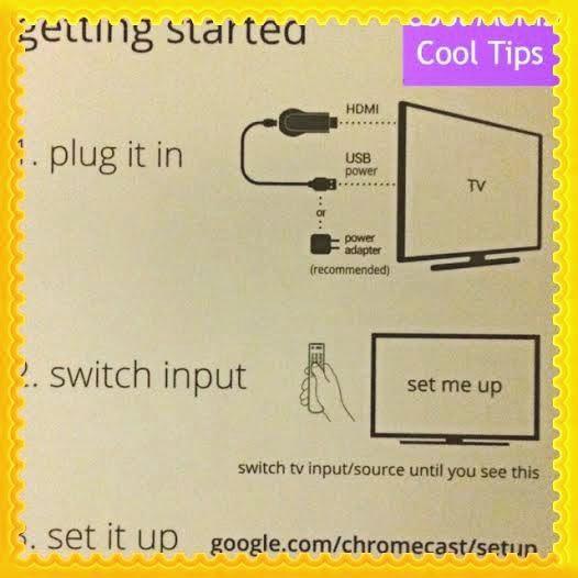 cool moms cool tips #staples chromecast set up