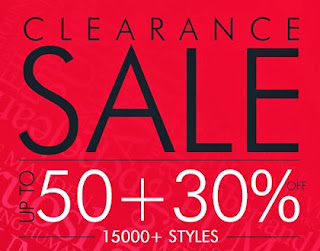Clearance Sale: Upto 50% + Flat 30% Additional Off on Branded Fashion Style at Myntra