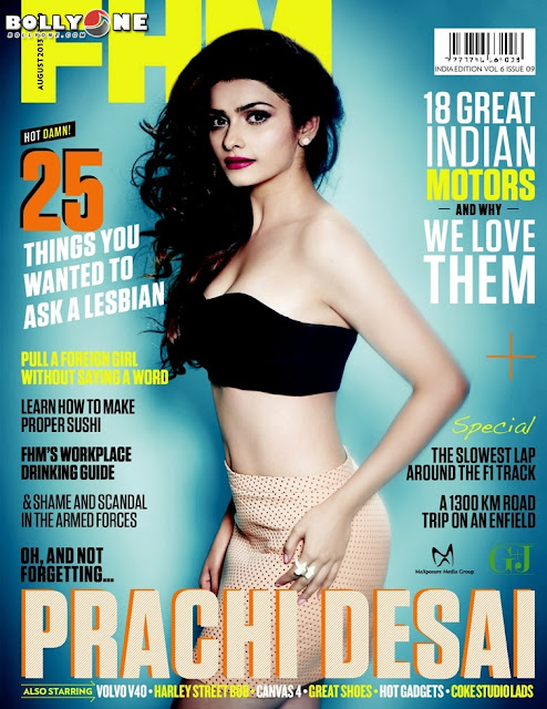 hot Prachi Desai FHM Magazine August 2013