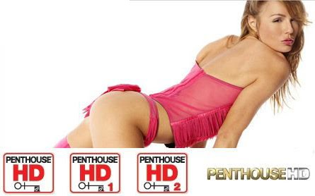 Penthouse HD Two beautiful naked teens holding each other and kissing