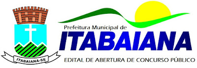 Edital Concurso público Prefeitura de Itabaiana (APOSTILA 2015)