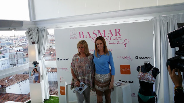 Basmar, Fundación Sandra Ibarra, baño, style, moda, lucha contra el cáncer, Prensa, Colaboración Solidaria, Terraza Hotel Oscar