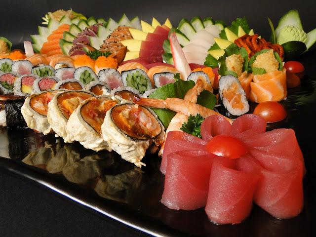 como comer comida japonesa