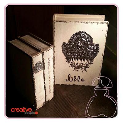 Cajita fallera en madera decorada a mano, modelo Repujado realizada por Sylvia Lopez Morant.
