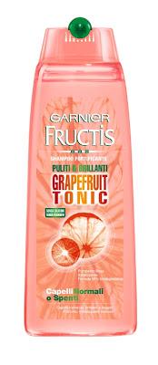 garnier fructis shampoo grapefruit tonic