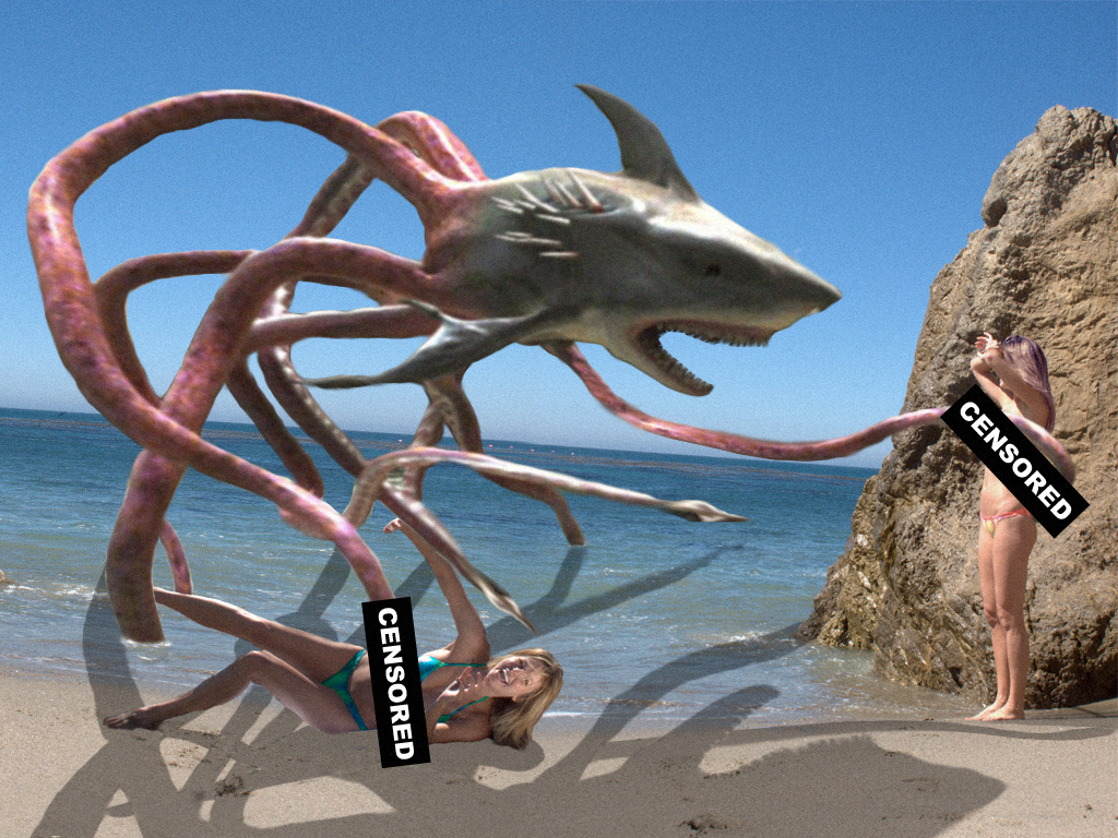 Sharktopus the horror of high seas - League of Legends
