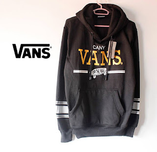 Sweater Vans Hitam Cany