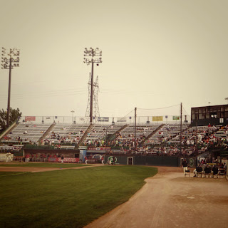 Zombie Night at the St Paul Saints Baseball Game