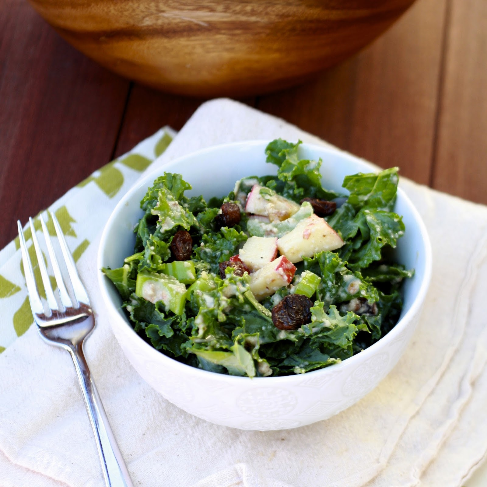 Kale Waldorf Salad | The Sweets Life