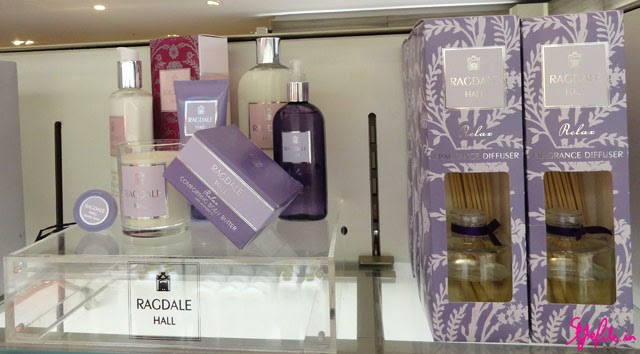M&S perfume, cosmetics, Ragdale hall, skincare, marks and spencer