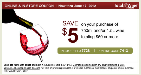 photograph regarding O'charley's $5 Off $20 Printable Coupon identify The Coupon Faerie: Overall Wine Further more: Help you save $5 off $50!