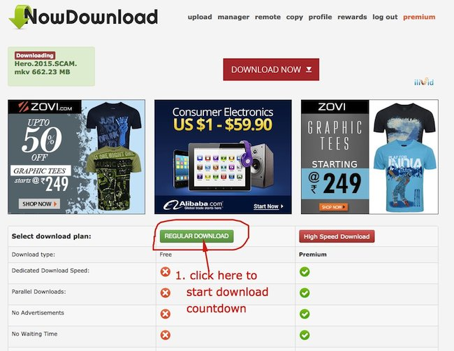 How to Download Movies from Nowdownload
