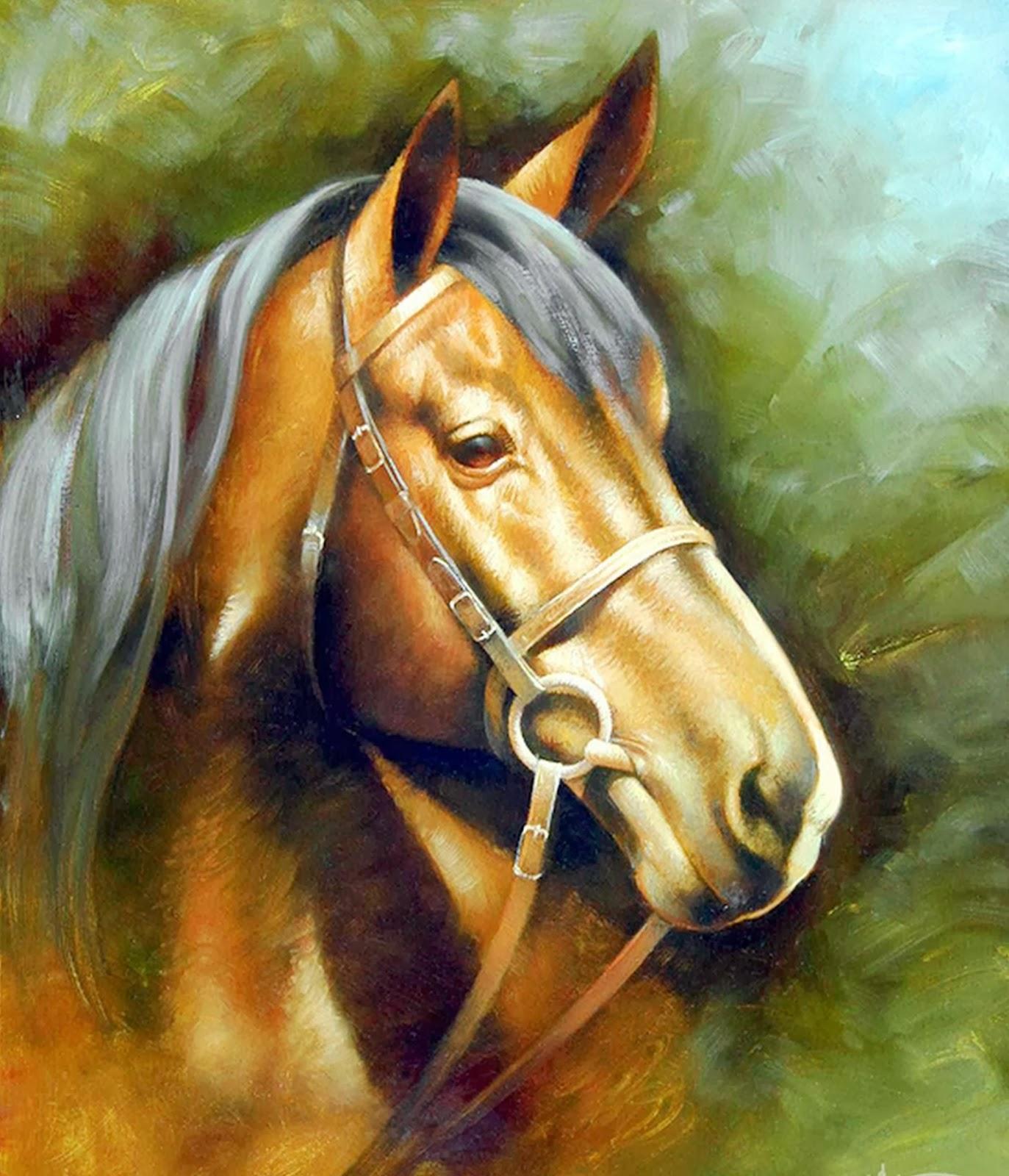 caballos-criollos-pintados-al-oleo