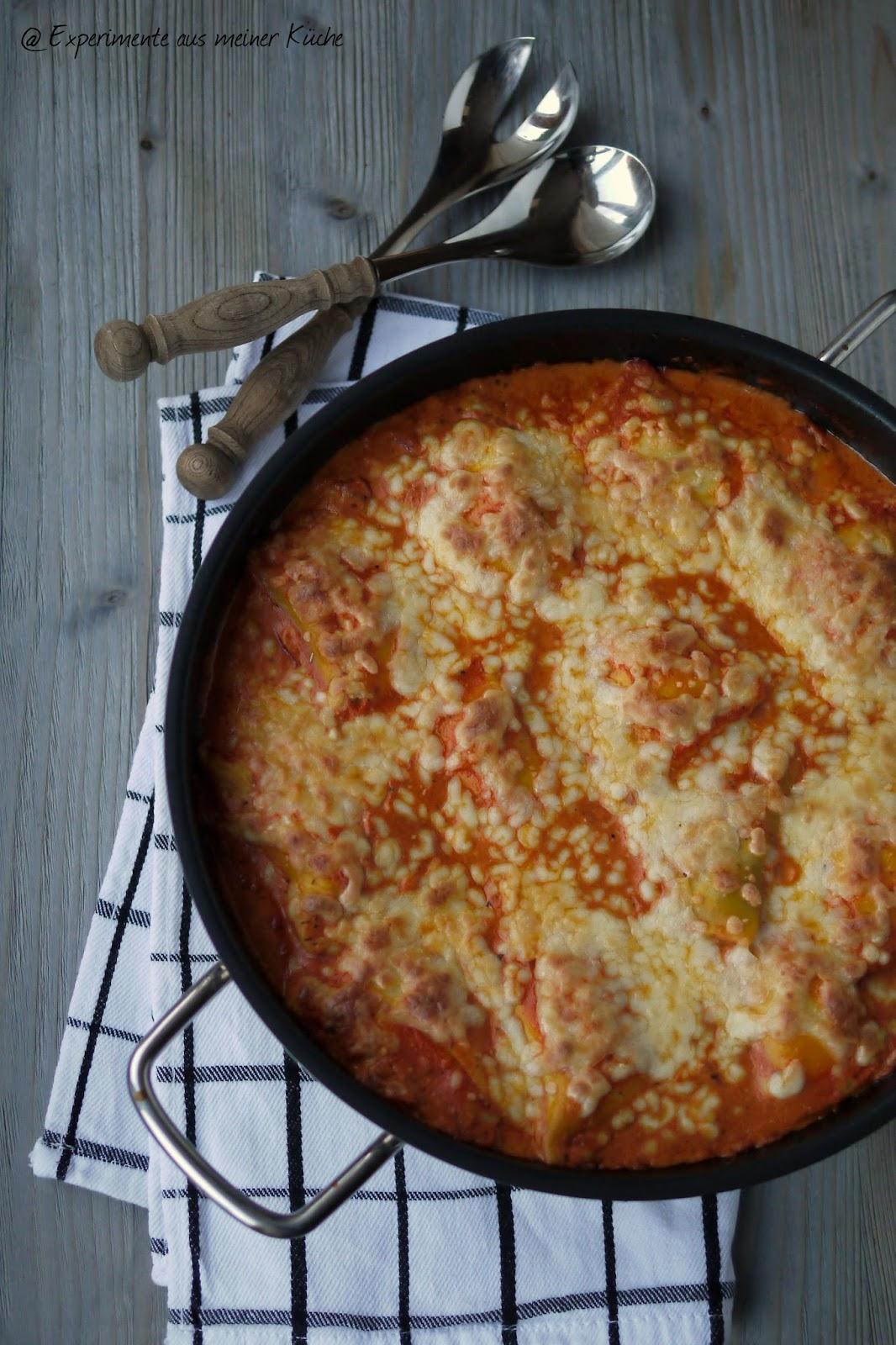 Experimente aus meiner Küche: Überbackene Maultaschen