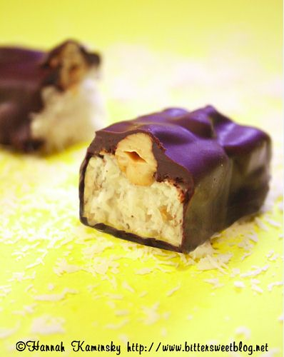 Hannah Kaminsky's Coconut Joy Candy Bar