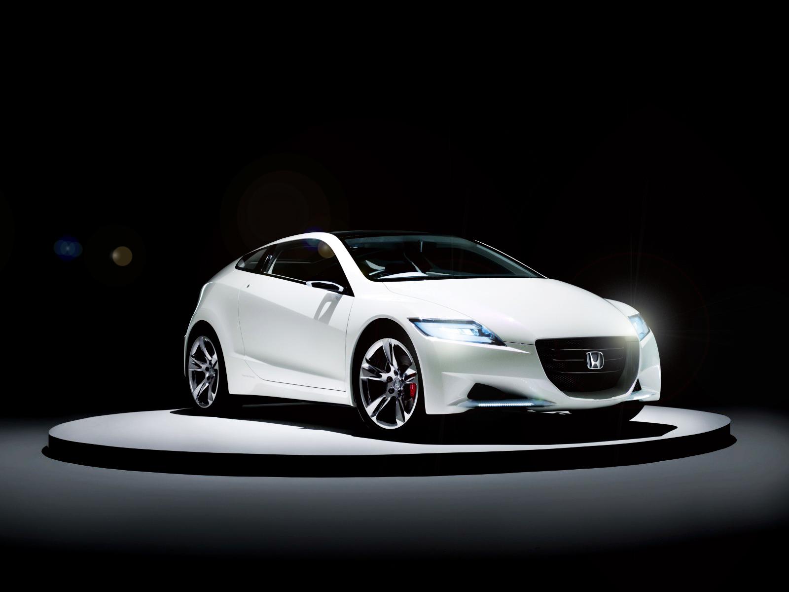 Honda CR Z Concept White HD Wallpaper Vvallpaper.net 2012 En Güzel HD Araba Resimleri indir