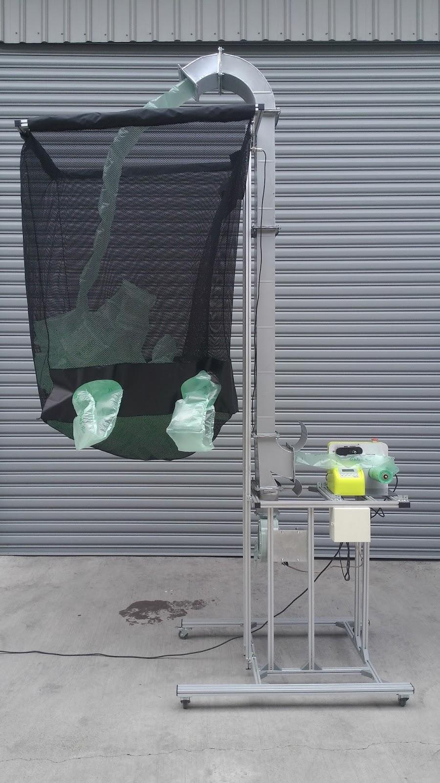 氣墊機儲放架