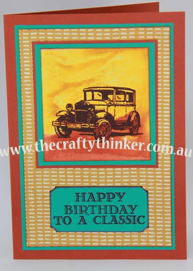 SU, Acrylic block stamping, Card making classes