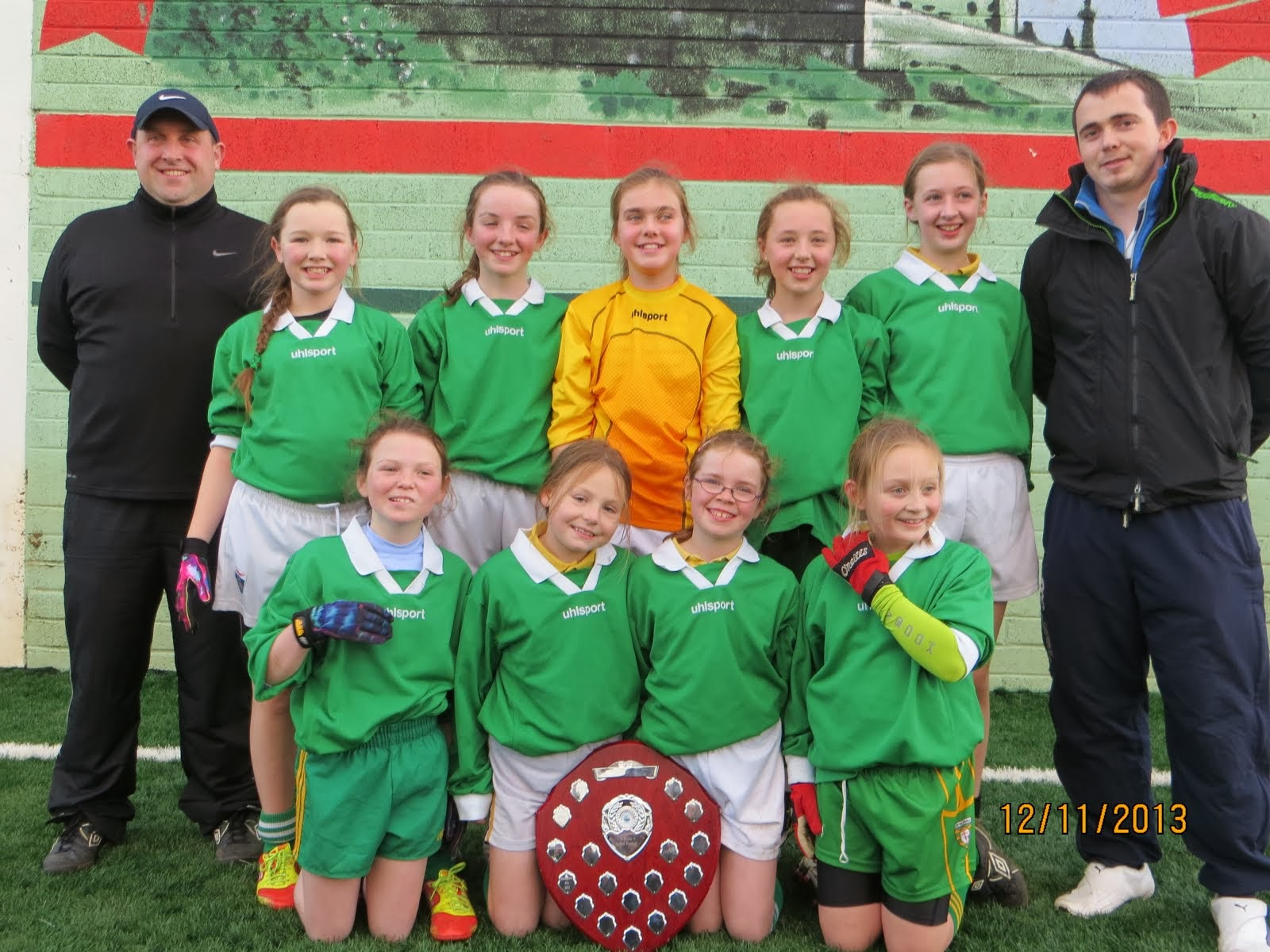 Our Wonderful U11 County Champions