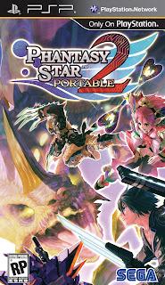 Phantasy Star Portable 2 PSP GAME