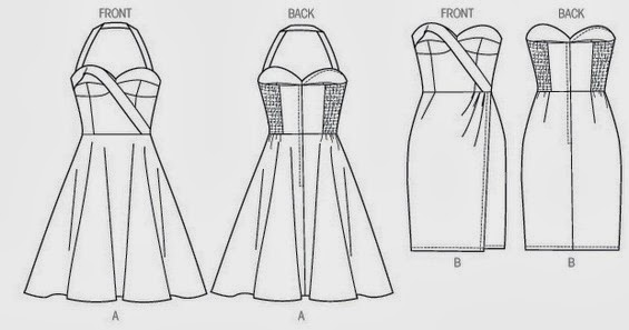 Gown pattern construction