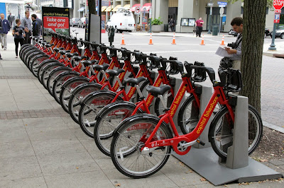 New Capital Bikeshare Station in Rockville