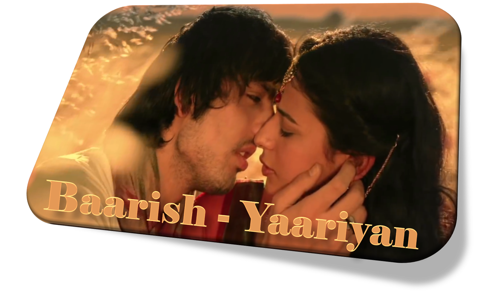 Baarish Baarish Song Lyrics I Baarish Song Hd Video I Yaariyan Movie ...