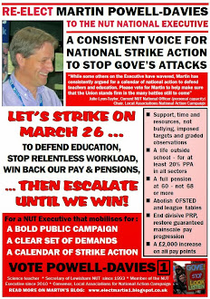 Download my latest NUT Executive Election Flyer