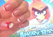 Unhas DiferentesUnhas do Angry Birds. Olá meninas!