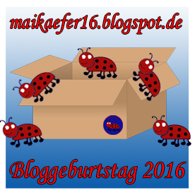 Bloggeburstag bei Maika