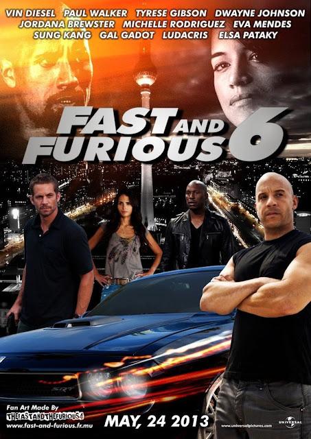 ดู Fast & Furious 6 เร็ว แรง ทะลุนรก 6 [พากย์ไทย] HD ฟรี พากย์ไทย