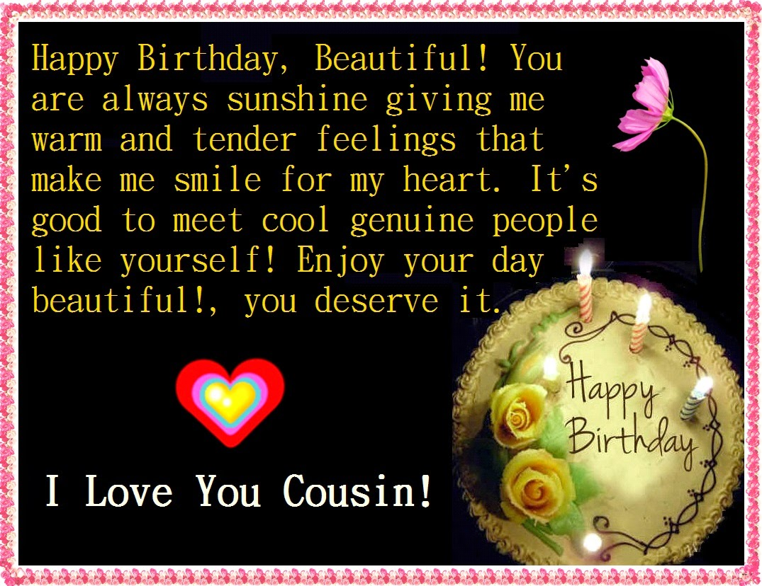 1000 Ideas About Happy Birthday Cousin On Pinterest Happy Birthday Wishes Cousin