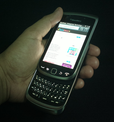 best smartphones 2012, blackberry torch 9810