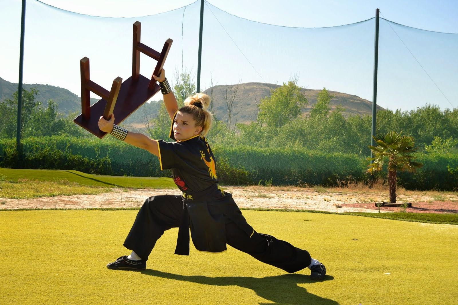 kung fu Wooden Bench Boxing Gōngfū bǎndèng quán