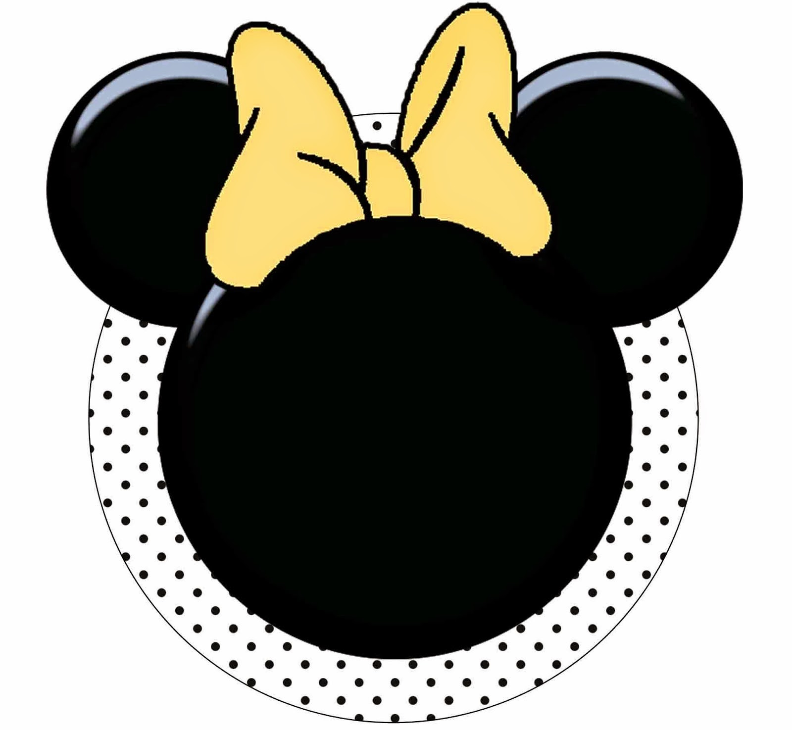 Funny Red Minnie Mouse Free Printables