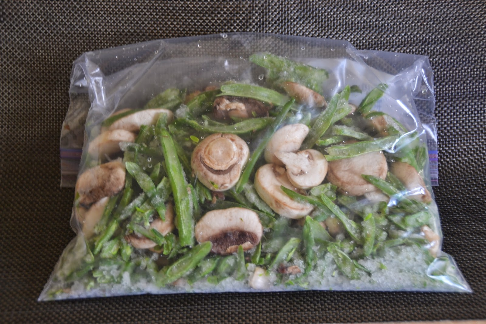 Mommy Recipe Project: Roasted Green Beans with Mushrooms ...