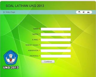Kumpulan Soal dan Aplikasi Kisi-Kisi UKA UKG Online 2013 : SDN SILEA