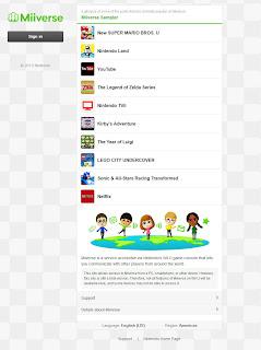 miiverse web browser version screen 1 Nintendo Unveils Official Miiverse Web Site With Web Access