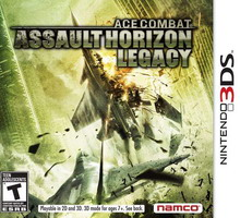 [N3DS] Ace Combat: Assault Horizon Legacy Spa,Eng,Fre,Ita,Ger EUR