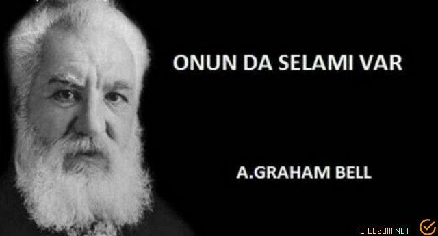 A. Graham Bell