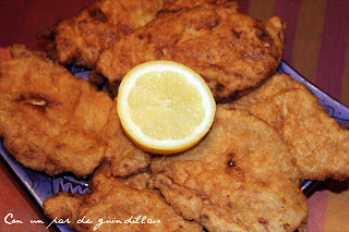 Bienmesabe de pollo o pechugas de pollo en el típico adobo del cazón