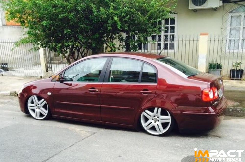 Polo sedan com rodas long beach aro 18 39 39 suspens o a ar impact movies brasil