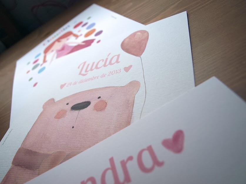 láminas personalizadas para chicas