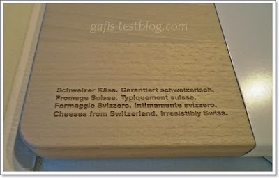 Schweizer-Käse-Brett Rückseite