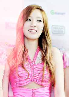 Taeyeon SNSD Girls' Generation Cutie in Pink